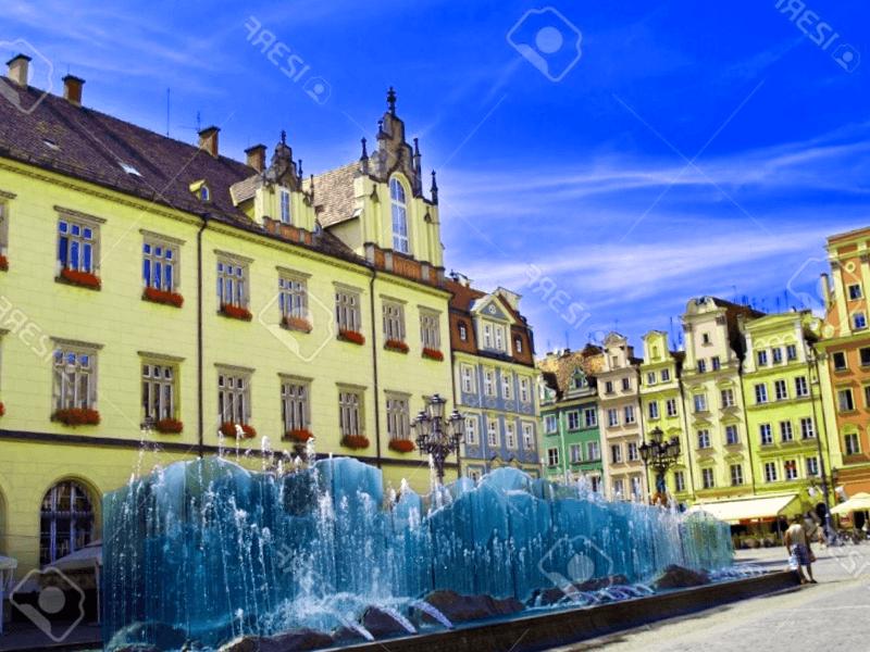 Conocer Plaza del mercado Medieval de Wroclaw