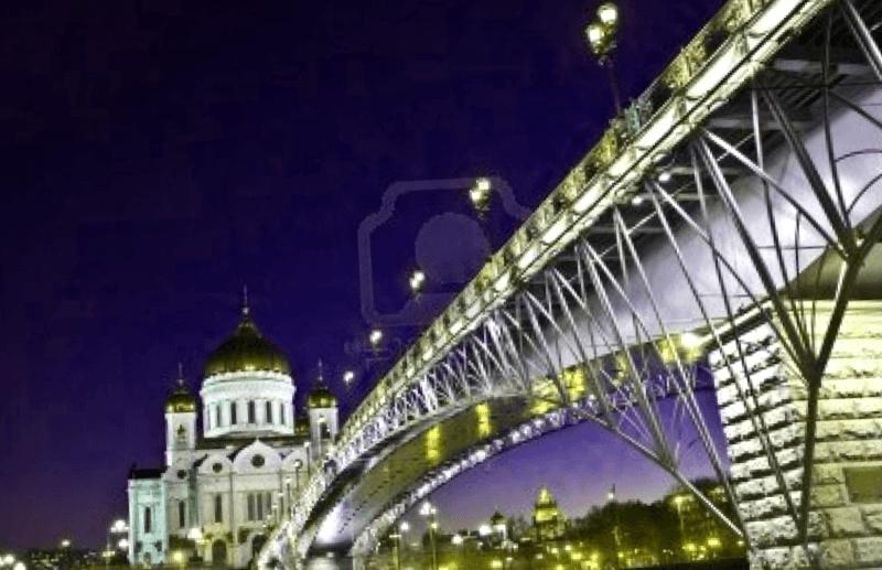 Ver Rusia y maravillarse de Puente Patriarchs