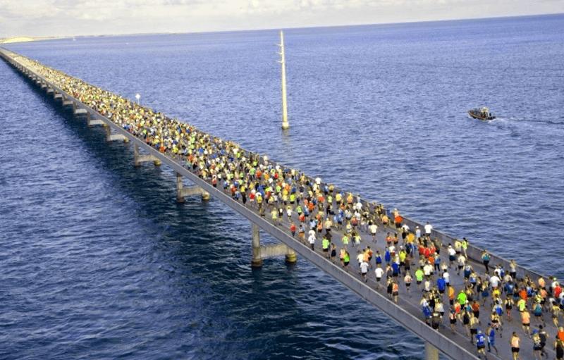 Ver Estados unidos y maravillarse de Puente Siete Millas