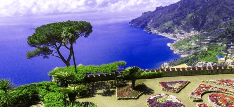 Conocer Italia y maravillarse de Ravello