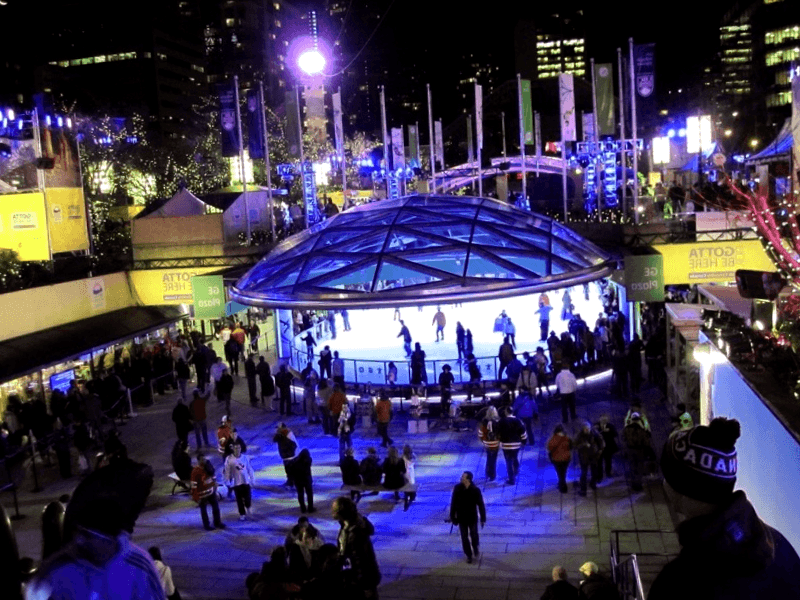 Conocer Robson Square Ice Rink