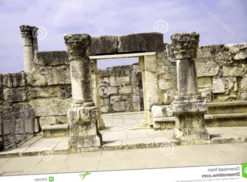 Ruinas de Capernaum que visitar