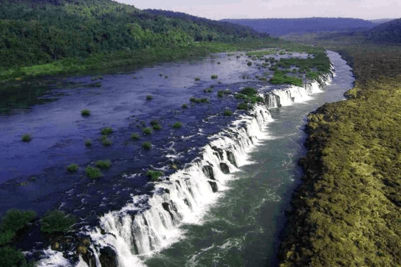 Ver Argentina y maravillarse de Saltos de Mocona