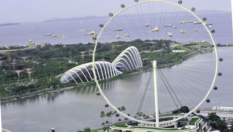 Ver Singapur y descubrir de Singapore Flyer