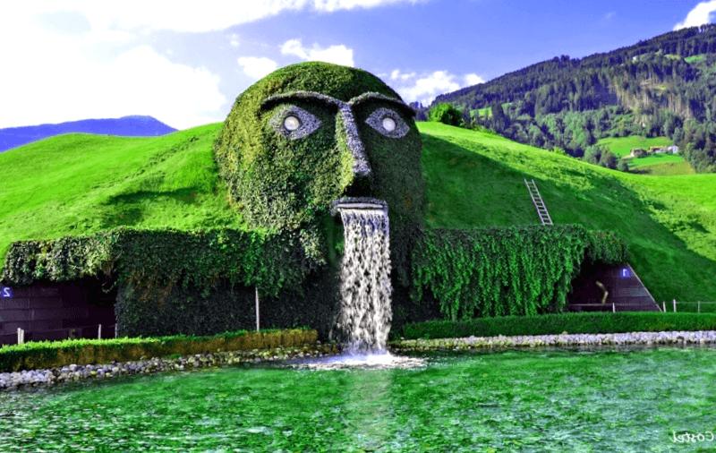 Swarovski Face Fountain que descubrir