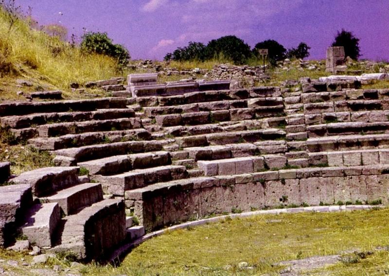 Teatro romano de Troya que ver