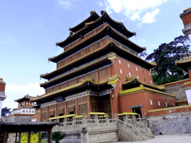 Templo Puning Si que descubrir