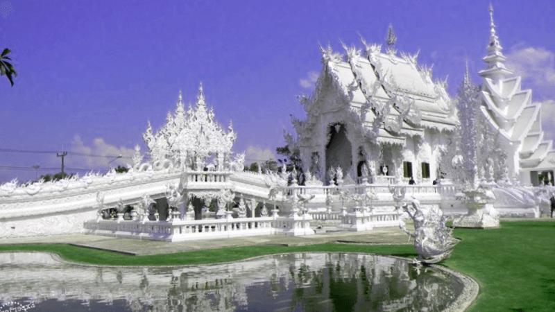 Templo Wat Rong Khun que debemos ver