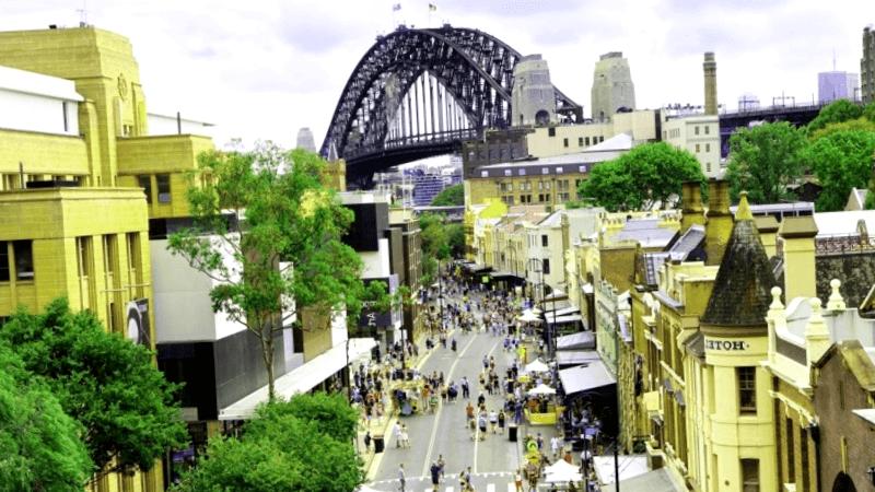 Visitar Australia y descubrir de The Rocks