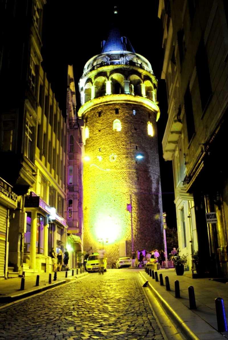 Visitar Turquia y descubrir de Torre de Galata