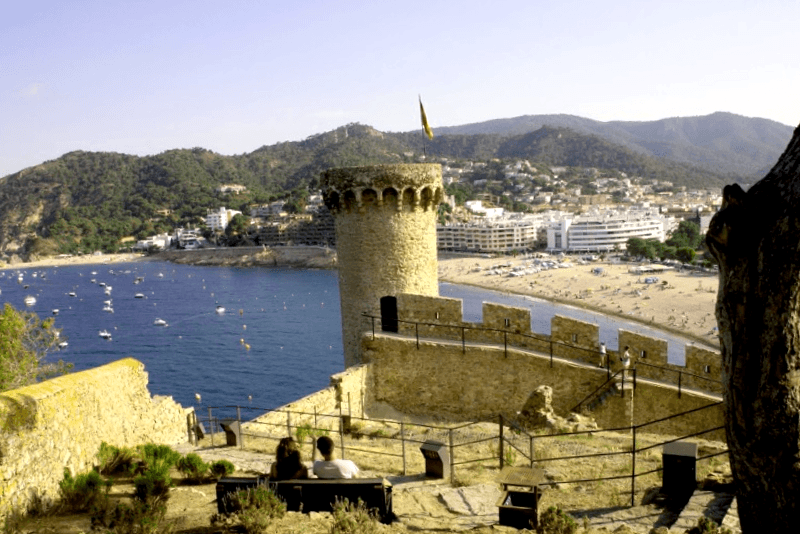 Conocer España y descubrir de Tossa del Mar