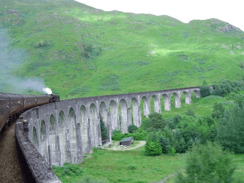 Viaducto de Glenfinnan que ver