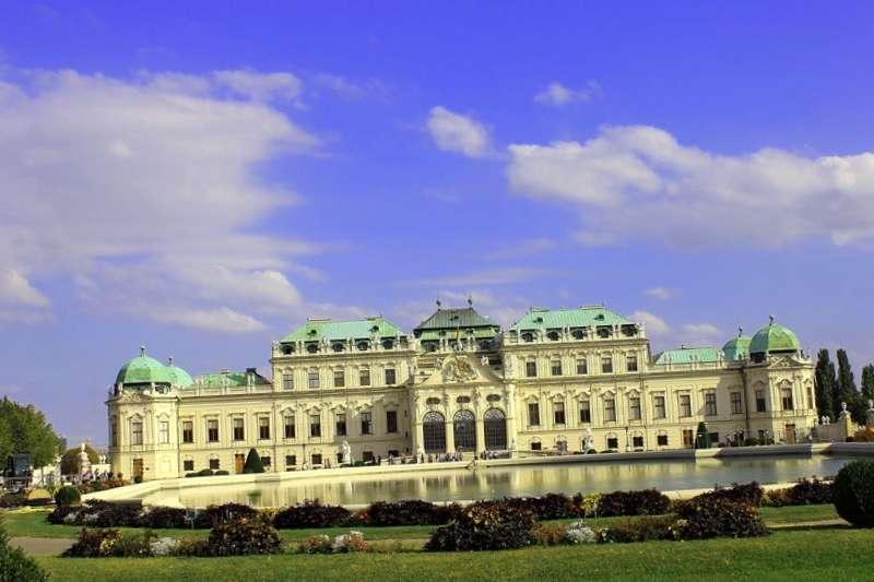 Visitar Austria y descubrir de Vista del Palacio Belvedere