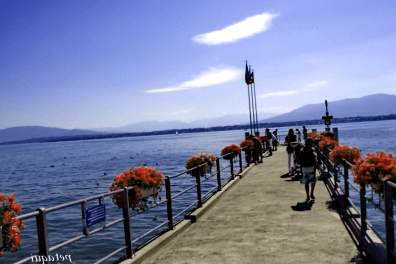 Que descubrir en Vista del lago Leman en Coopet