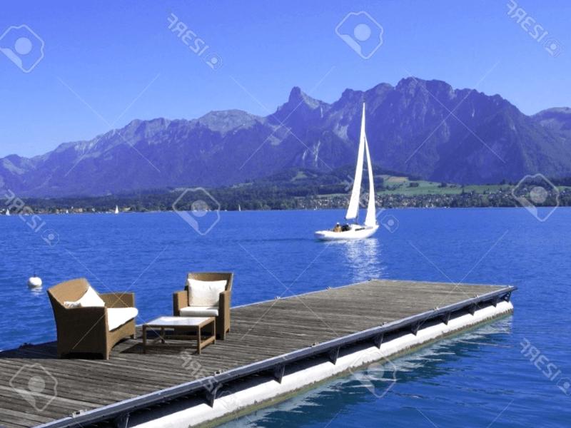 Conocer Suiza y descubrir de Vista del lago de Thun