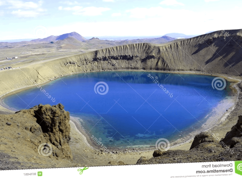 Que visitar en Volcan Krafla