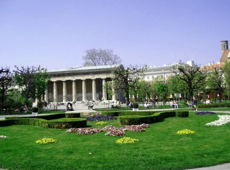 Que visitar en Volksgarten