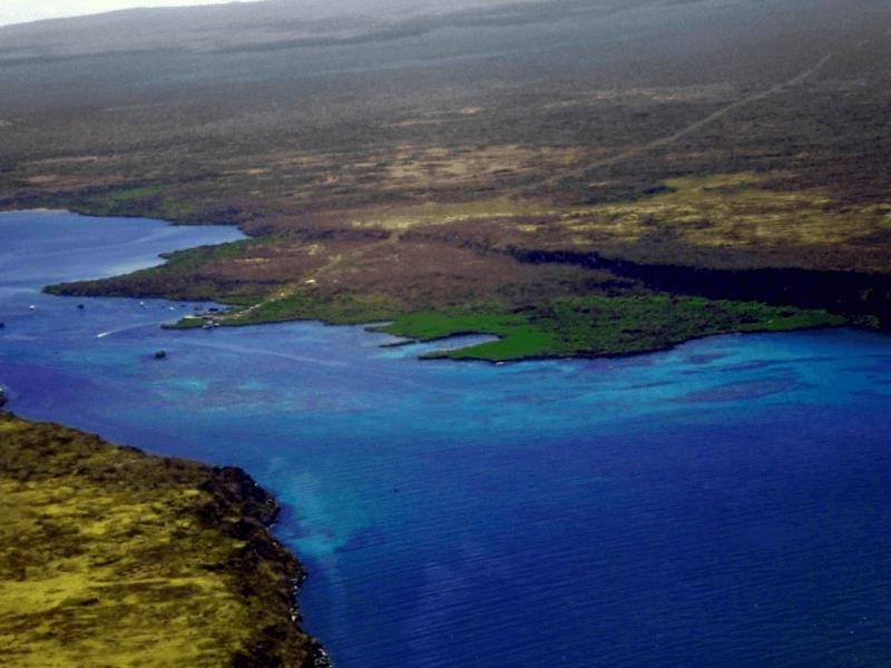 Ver Ecuador y maravillarse de la isla de Baltra