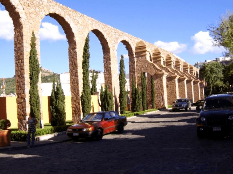 Ver Mexico y descubrir de Acueducto El Cubo