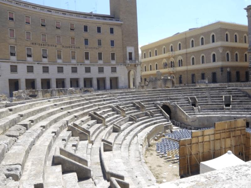 Anfiteatro Romano de Lecce que visitar
