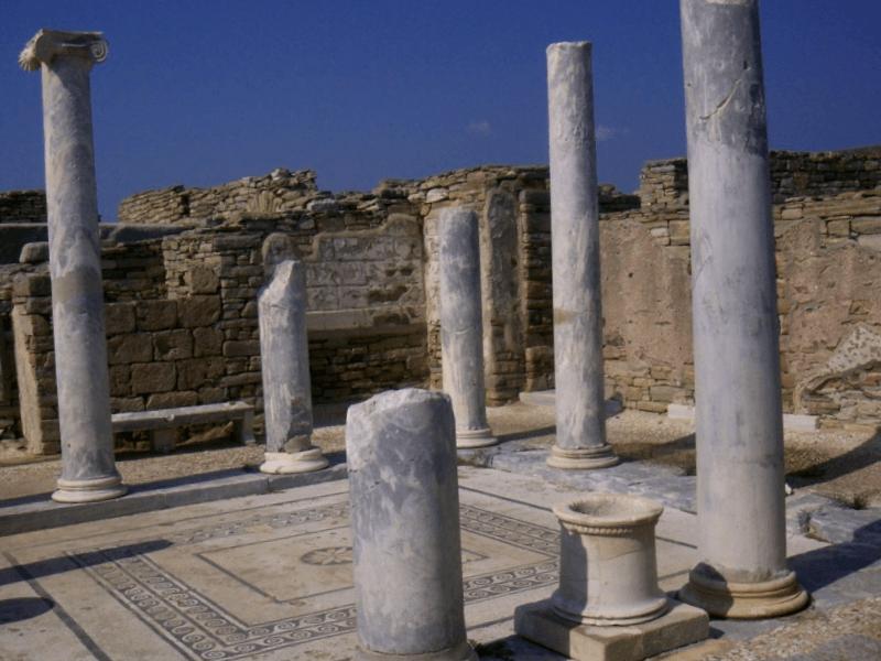 Ver Grecia y descubrir de Antigua ciudad de Delos