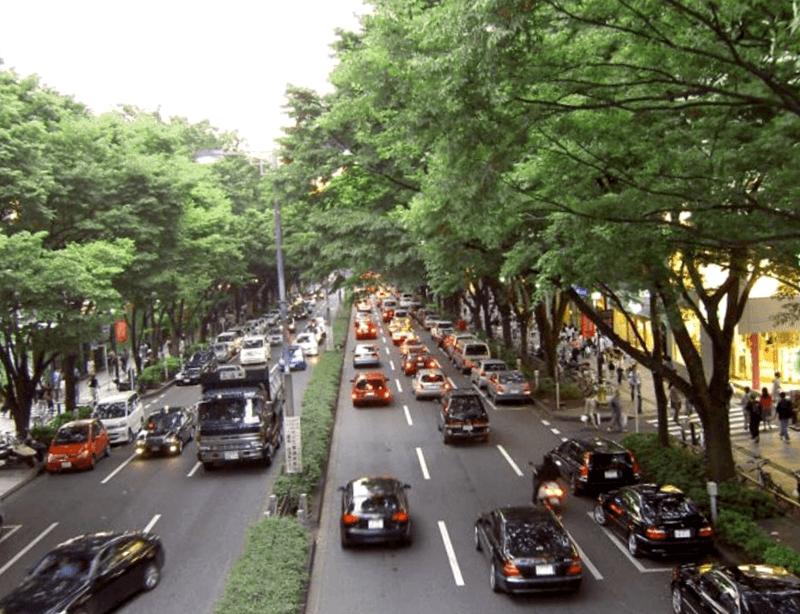 Conocer Japon y descubrir de Avenida Omotesando