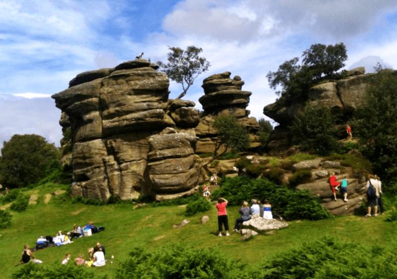 Que ver en Brimham Rocks