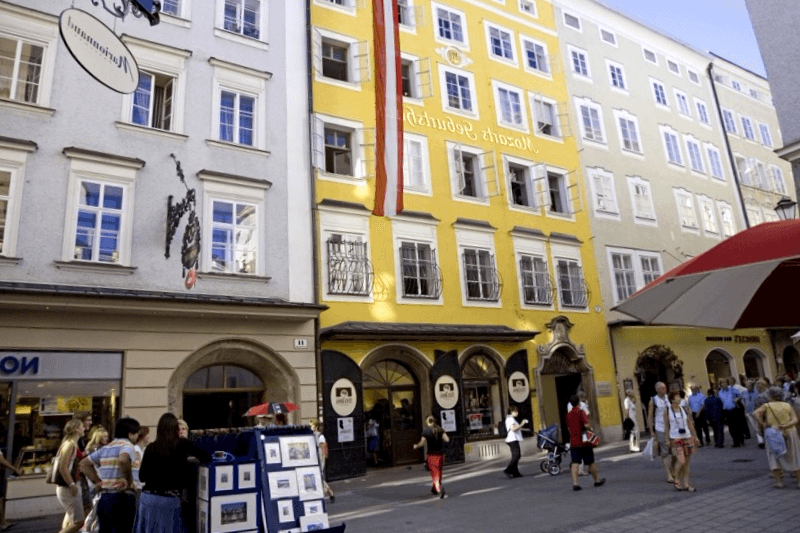 Visitar Calle Getreidegasse