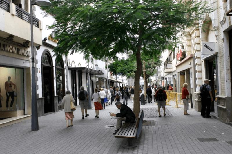 Calle Leon y Castilla de Arrecife que debemos ver