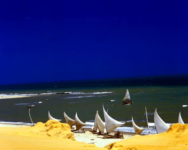 Conocer Brasil y maravillarse de Canoa Quebrada