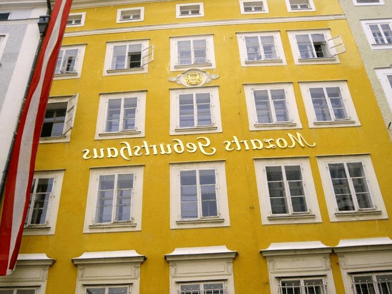 Casa natal de Mozart que debemos ver