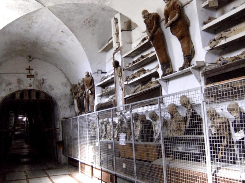 Que visitar en Catacumba de los Capuchinos