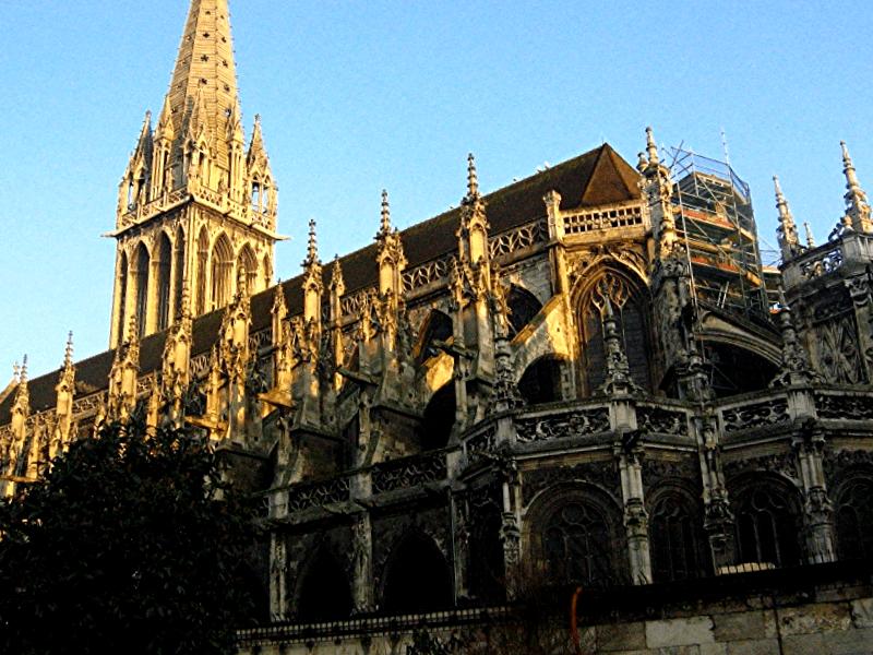 Catedral de Caen que descubrir