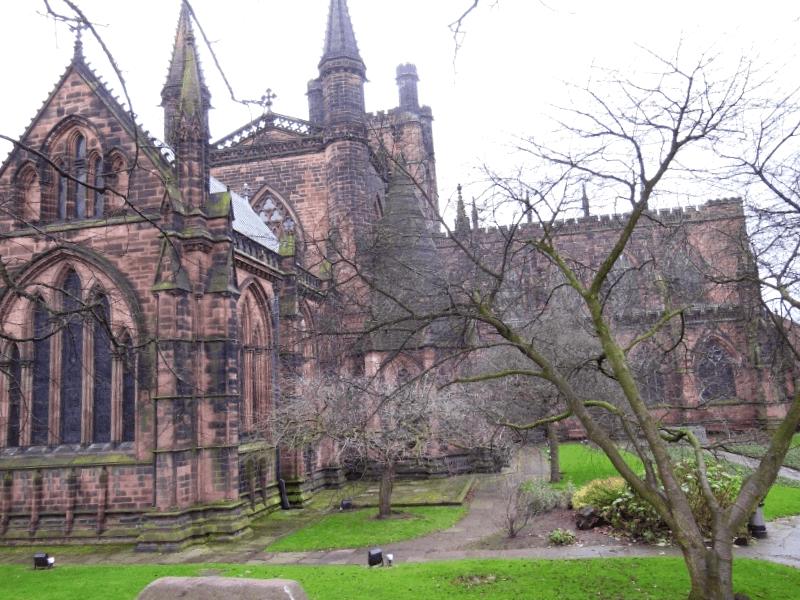 Ver Inglaterra y descubrir de Catedral de Chester