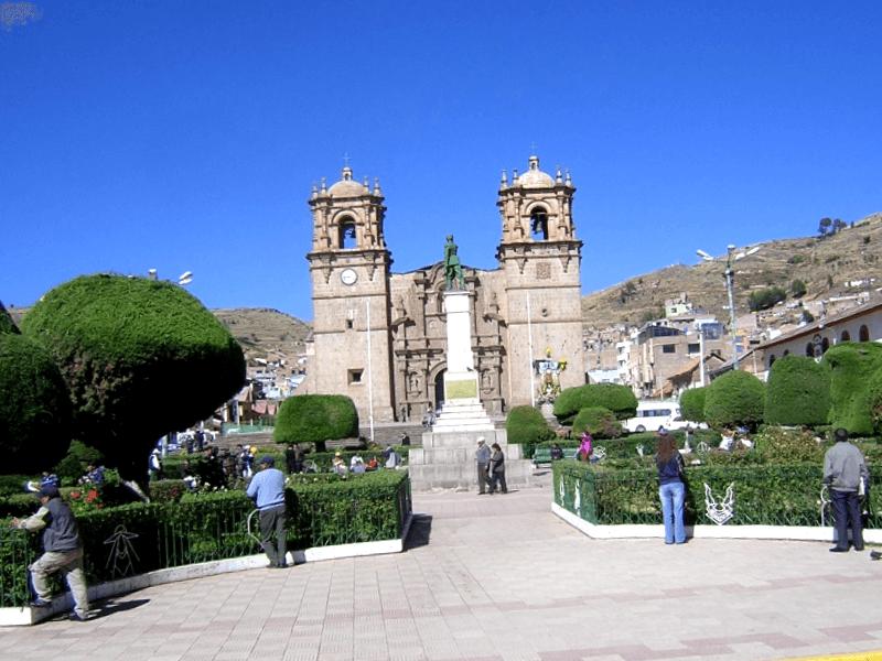 Conocer Peru y descubrir de Catedral de Puno