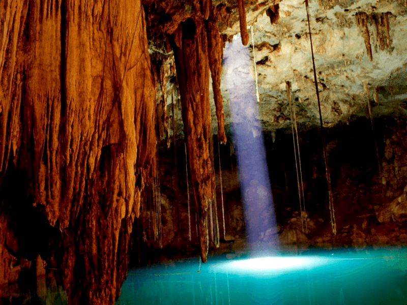 Ver Mexico y descubrir de Cenote Dzitnup