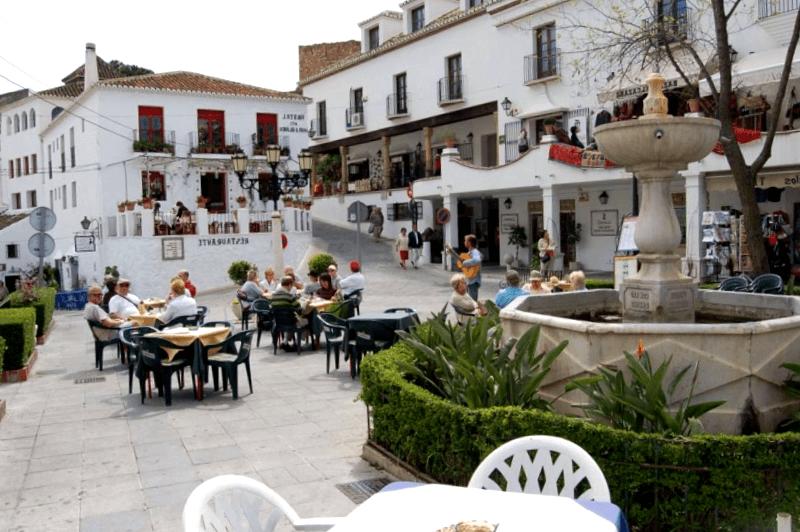 Centro de la ciudad de Mijas que visitar