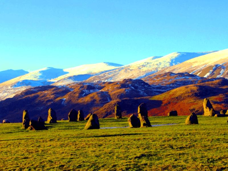 Conocer Inglaterra y maravillarse de Circulo de Piedra de Castlerigg