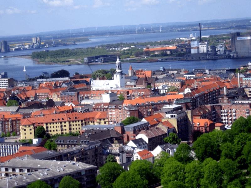 Ver Dinamarca y maravillarse de Ciudad de Aalborg