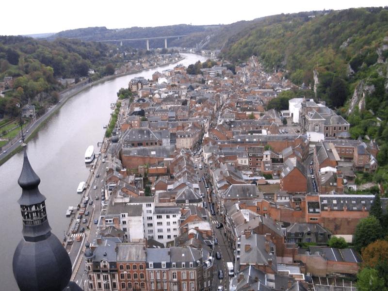 Ver Belgica y descubrir de Ciudadela de Dinant