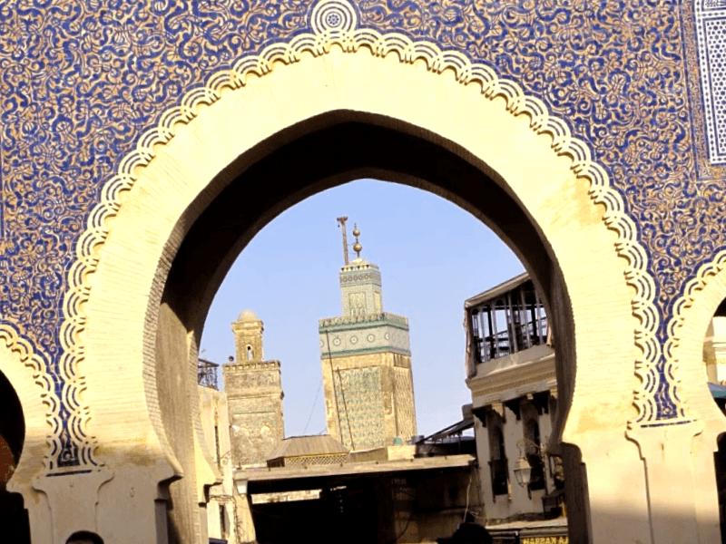 Detalles de Bab Bou Jeloud que ver