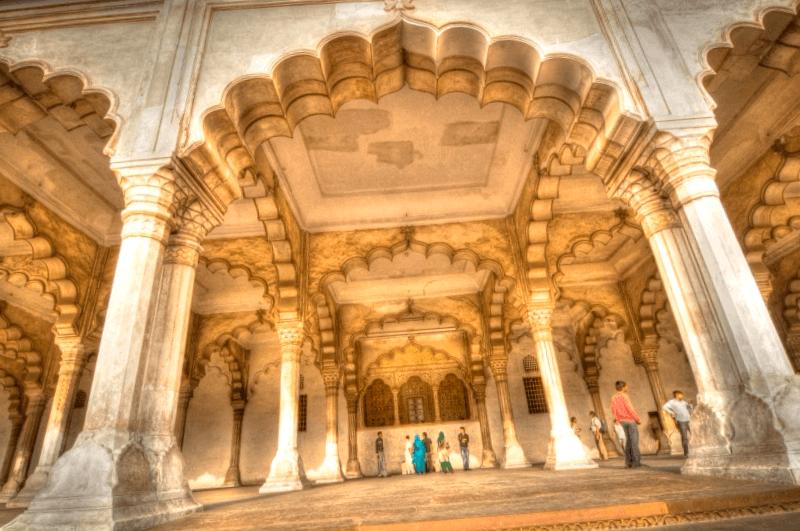 Visitar Detalles del Diwan-i-Aam