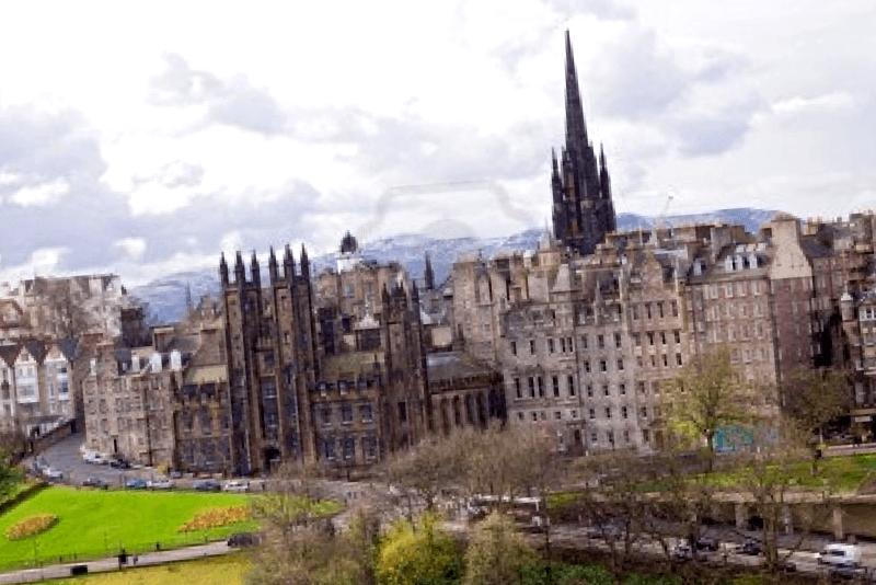 Ver Escocia y maravillarse de Edimburgo