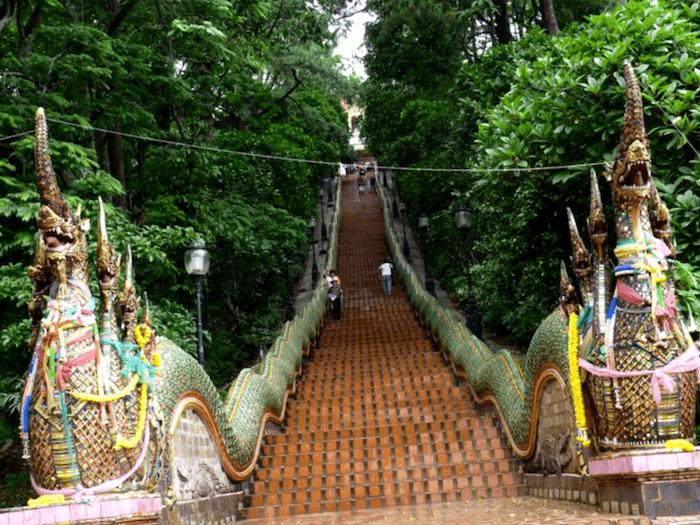 Que visitar en Entrada a Phra Thai doi Suthep