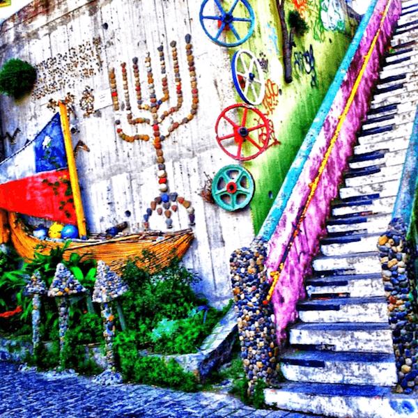 Escaleras de Valparaiso que descubrir