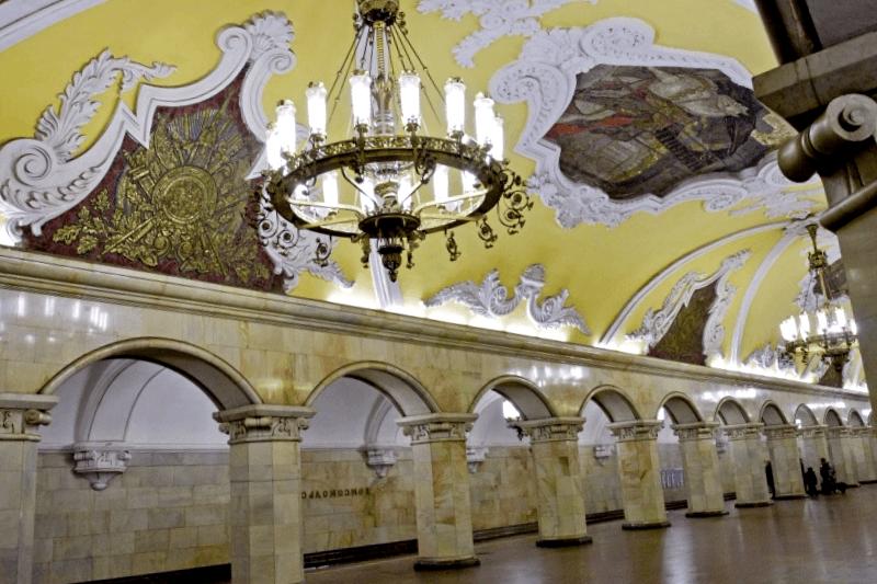 Que visitar en Estacion Komsomolskaya