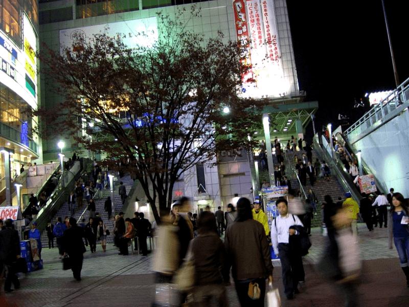 Ver Japon y maravillarse de Estacion Shinjuku