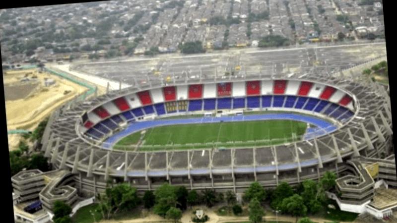 Ver Colombia y maravillarse de Estadio Metropolitano