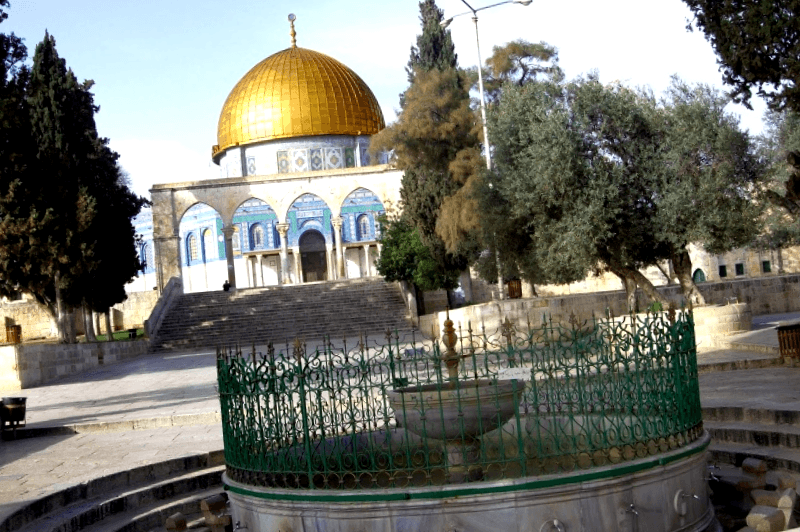 Visitar Israel y descubrir de Explanada de las Mezquitas