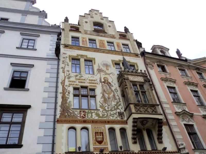 Ver Republica checa y descubrir de Fachada de la Casa Storch
